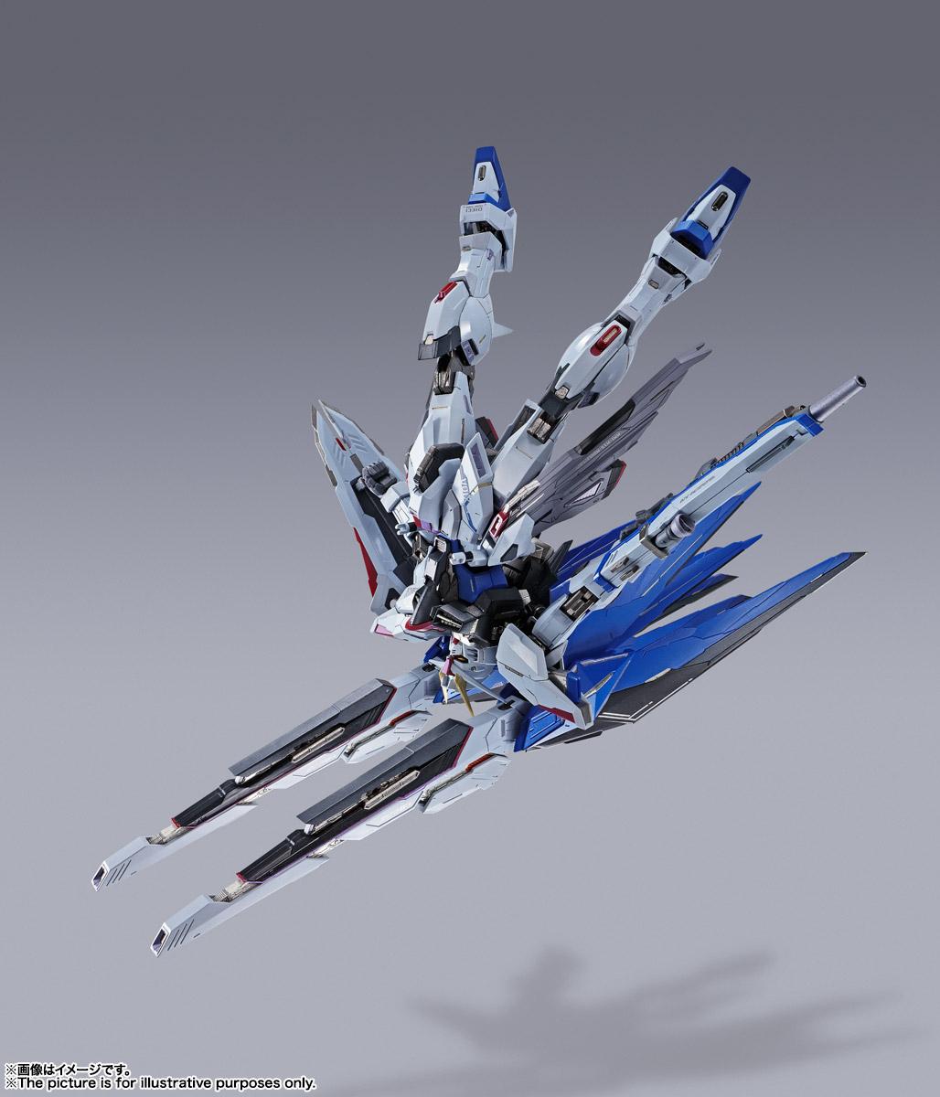 【再販】METAL BUILD『フリーダムガンダム CONCEPT 2』機動戦士ガンダムSEED 可動フィギュア-012