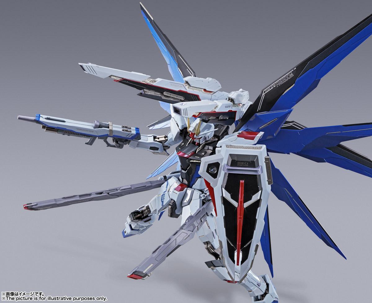 【再販】METAL BUILD『フリーダムガンダム CONCEPT 2』機動戦士ガンダムSEED 可動フィギュア-015