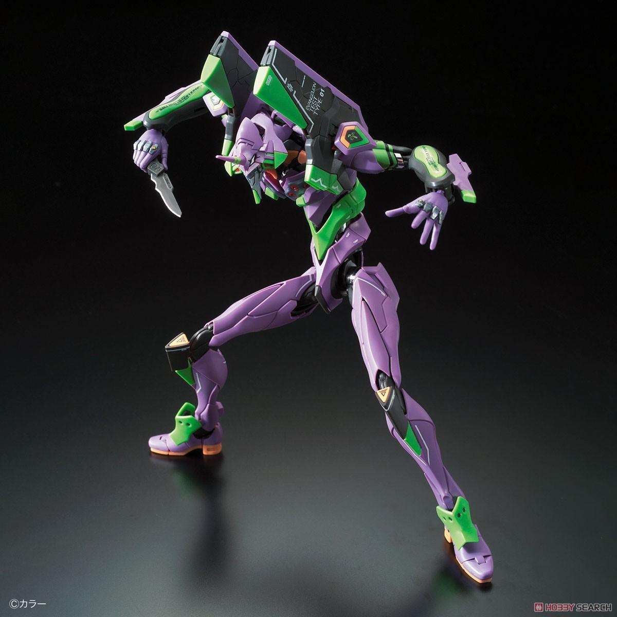 【8月再販】RG『汎用ヒト型決戦兵器 人造人間エヴァンゲリオン初号機』プラモデル-002