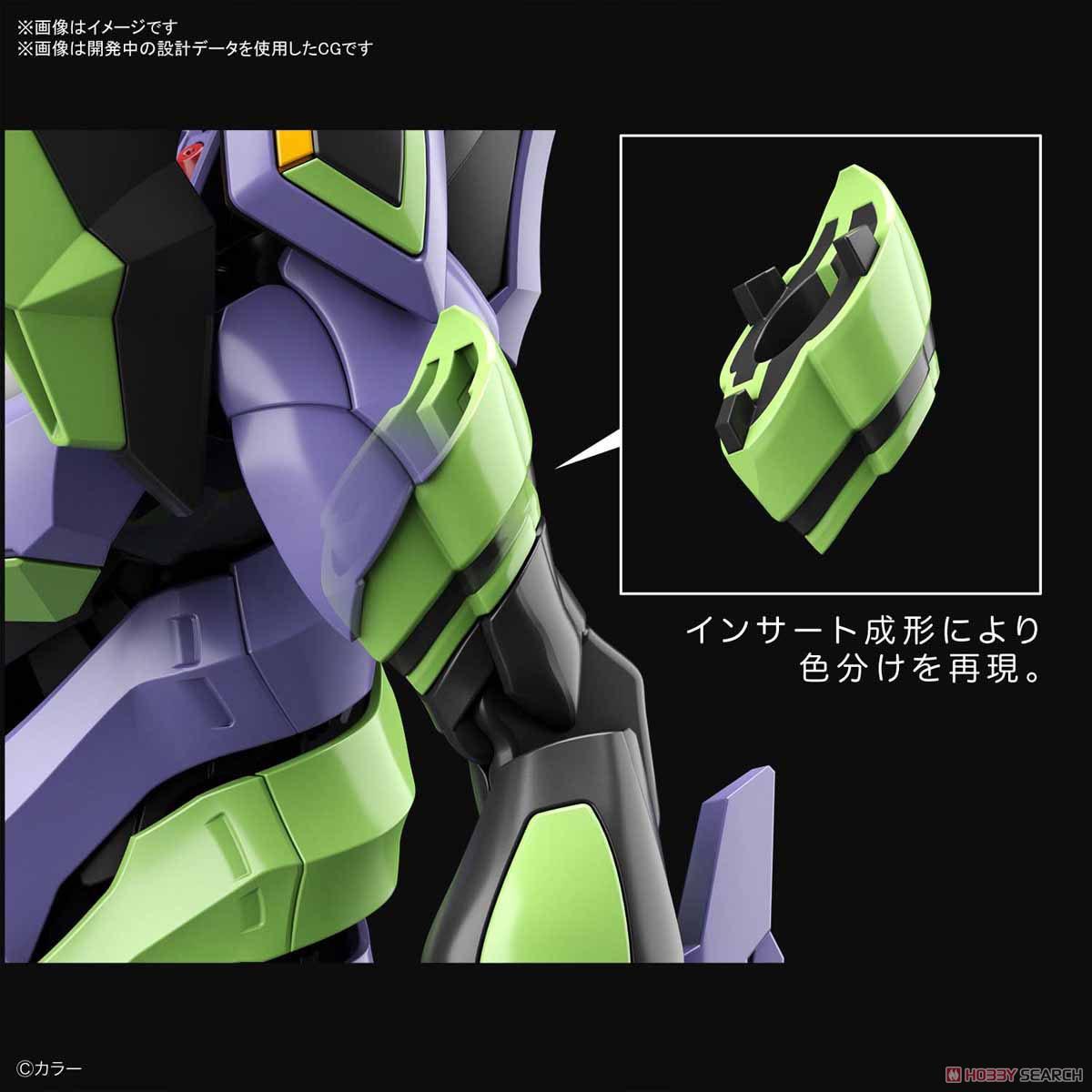 【8月再販】RG『汎用ヒト型決戦兵器 人造人間エヴァンゲリオン初号機』プラモデル-029
