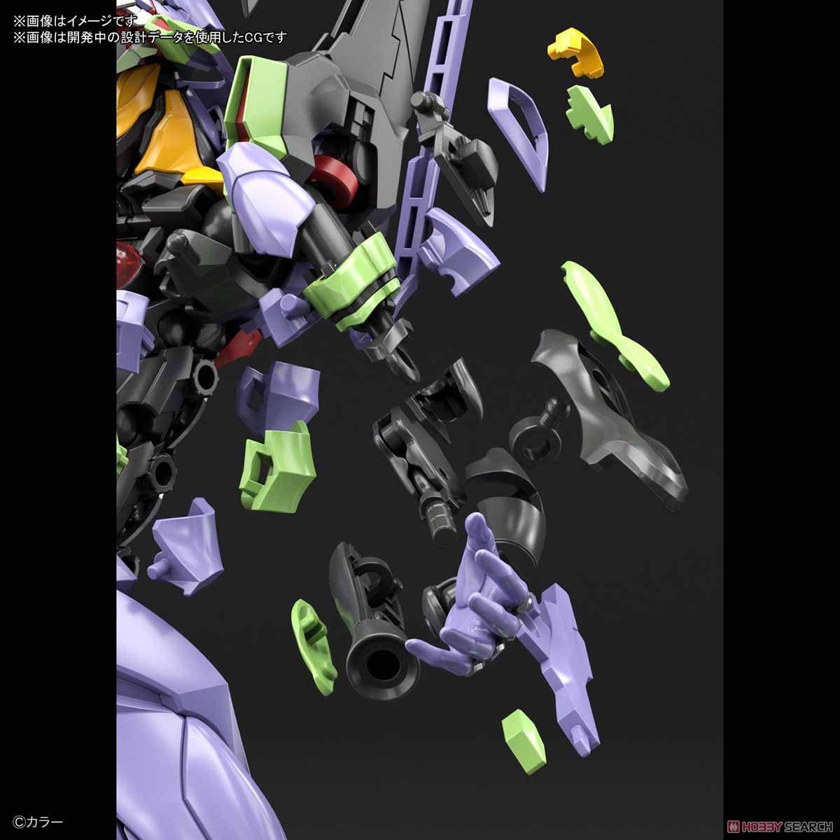 【8月再販】RG『汎用ヒト型決戦兵器 人造人間エヴァンゲリオン初号機』プラモデル-030