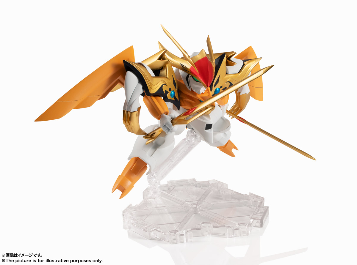 NXEDGE STYLE[MASHIN UNIT]『龍激丸』魔神英雄伝ワタル 可動フィギュア-002