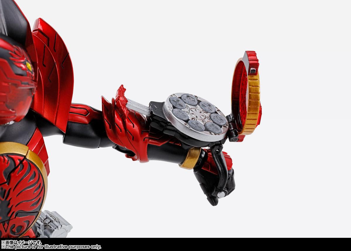 S.H.Figuarts(真骨彫製法)『仮面ライダーオーズ タジャドル コンボ』 可動フィギュア-007