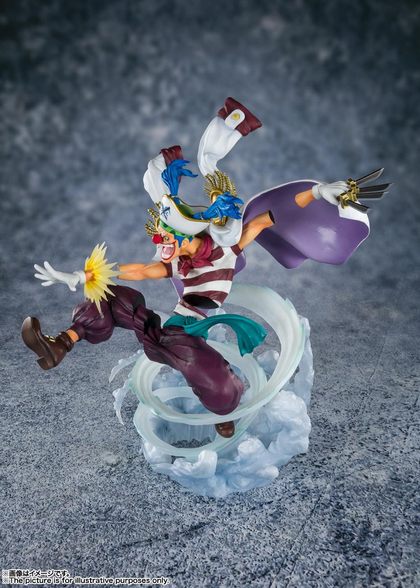 フィギュアーツZERO[EXTRA BATTLE]『道化のバギー -頂上決戦-』ONE PIECE 完成品フィギュア-003
