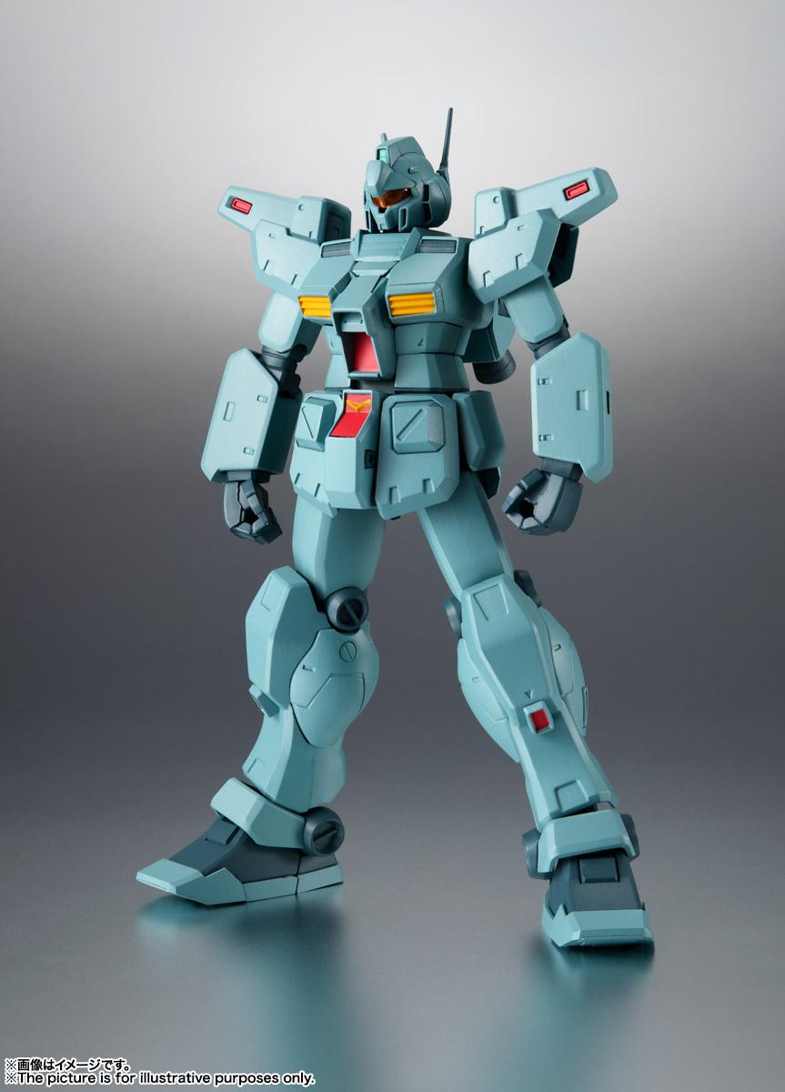 ROBOT魂〈SIDE MS〉『RGM-79N ジム・カスタム ver. A.N.I.M.E.』ガンダム0083 可動フィギュア-001