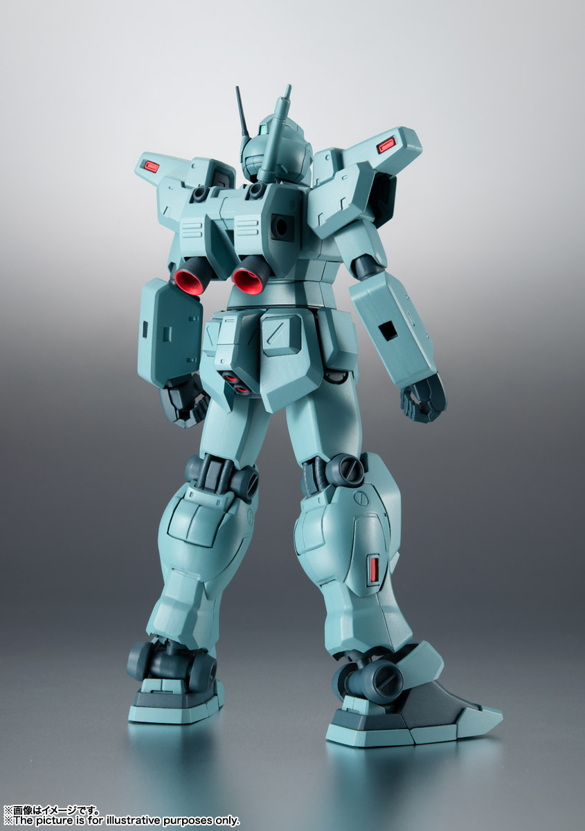 ROBOT魂〈SIDE MS〉『RGM-79N ジム・カスタム ver. A.N.I.M.E.』ガンダム0083 可動フィギュア-002