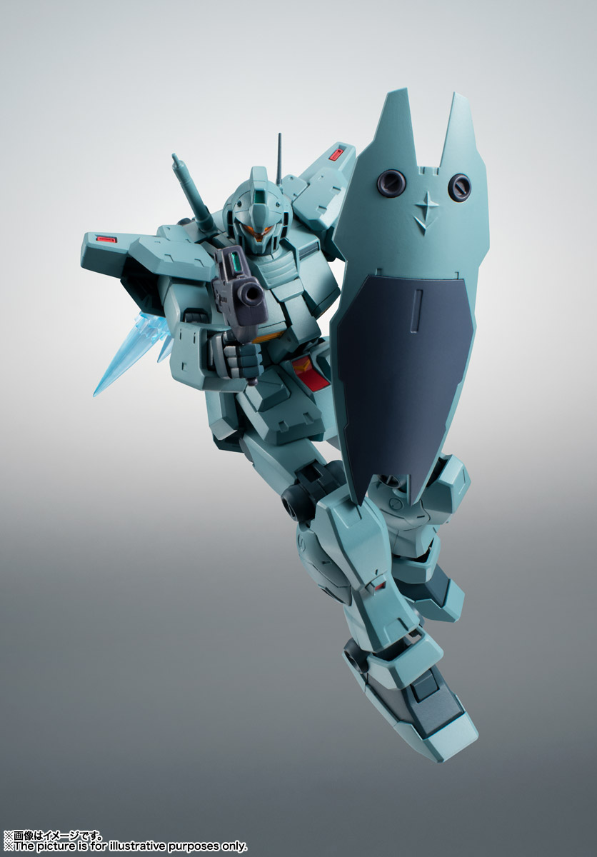 ROBOT魂〈SIDE MS〉『RGM-79N ジム・カスタム ver. A.N.I.M.E.』ガンダム0083 可動フィギュア-003