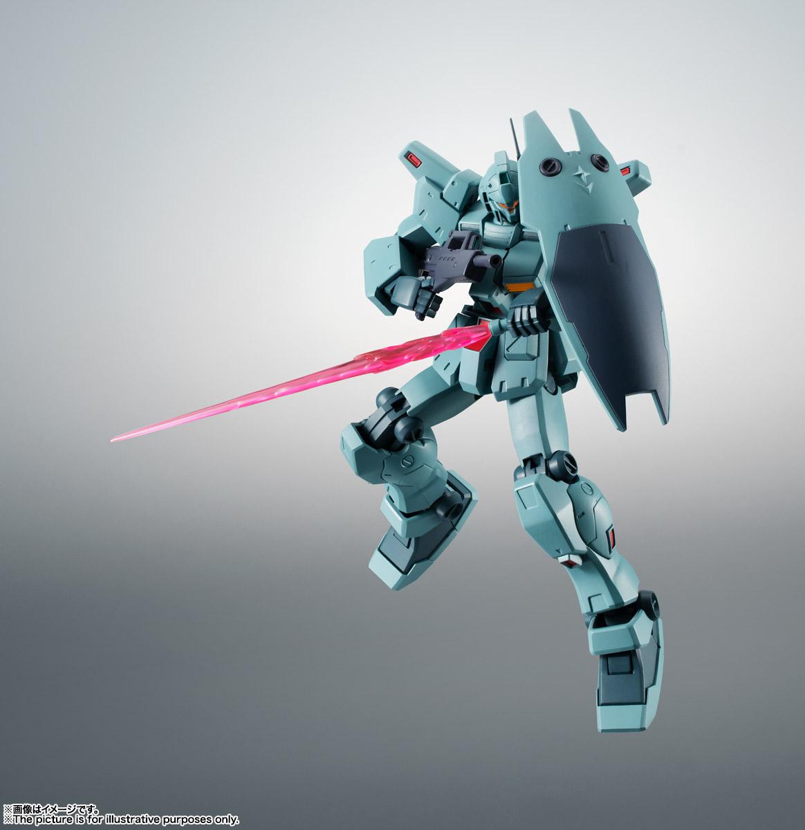 ROBOT魂〈SIDE MS〉『RGM-79N ジム・カスタム ver. A.N.I.M.E.』ガンダム0083 可動フィギュア-005