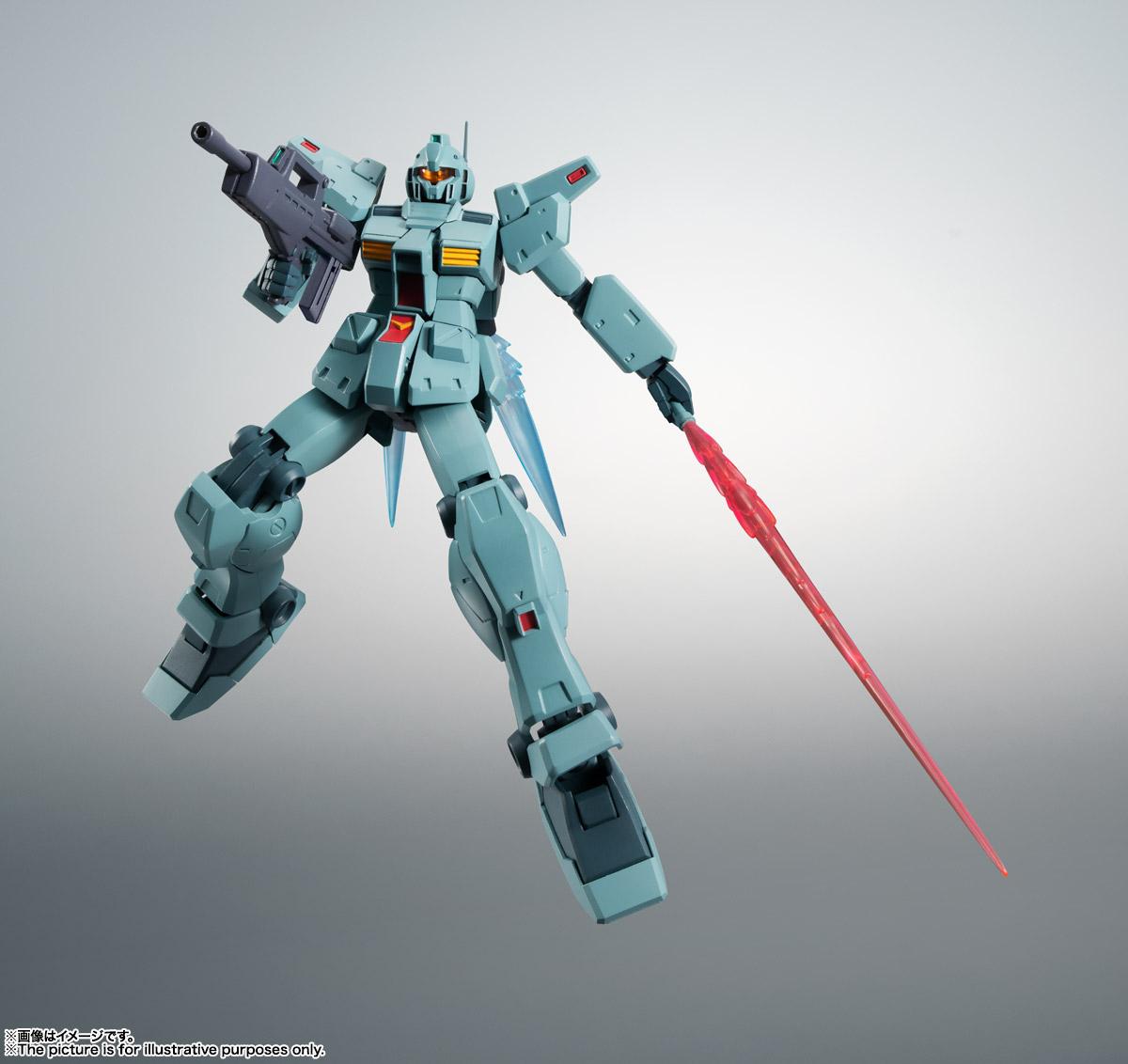 ROBOT魂〈SIDE MS〉『RGM-79N ジム・カスタム ver. A.N.I.M.E.』ガンダム0083 可動フィギュア-006