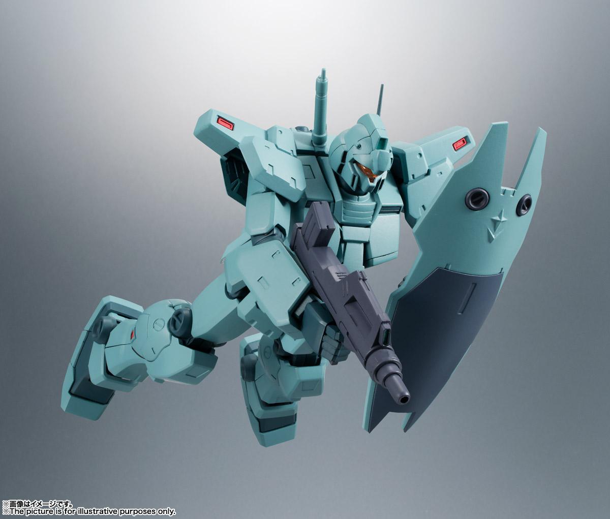 ROBOT魂〈SIDE MS〉『RGM-79N ジム・カスタム ver. A.N.I.M.E.』ガンダム0083 可動フィギュア-007