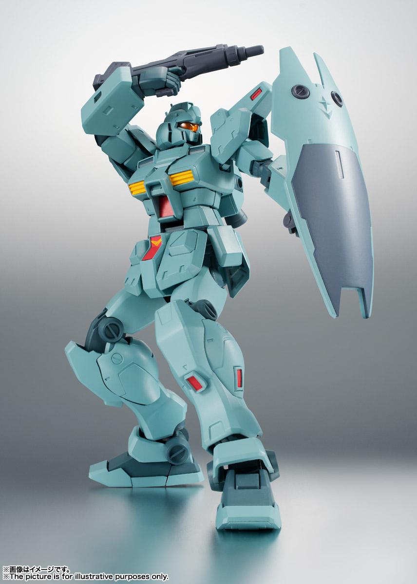 ROBOT魂〈SIDE MS〉『RGM-79N ジム・カスタム ver. A.N.I.M.E.』ガンダム0083 可動フィギュア-008