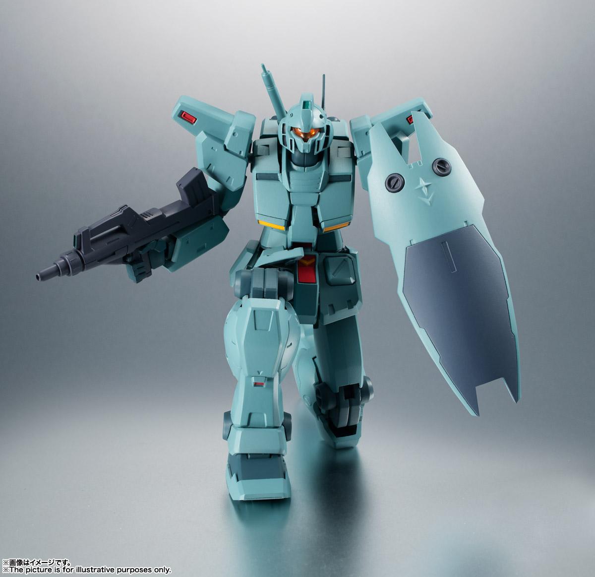 ROBOT魂〈SIDE MS〉『RGM-79N ジム・カスタム ver. A.N.I.M.E.』ガンダム0083 可動フィギュア-009