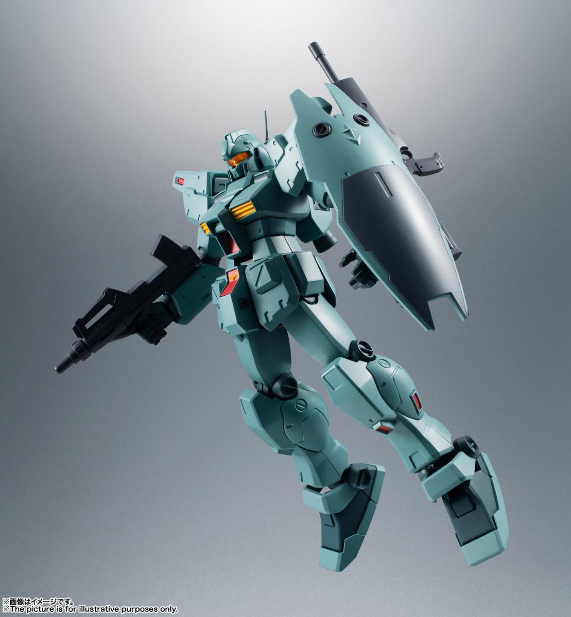 ROBOT魂〈SIDE MS〉『RGM-79N ジム・カスタム ver. A.N.I.M.E.』ガンダム0083 可動フィギュア-010