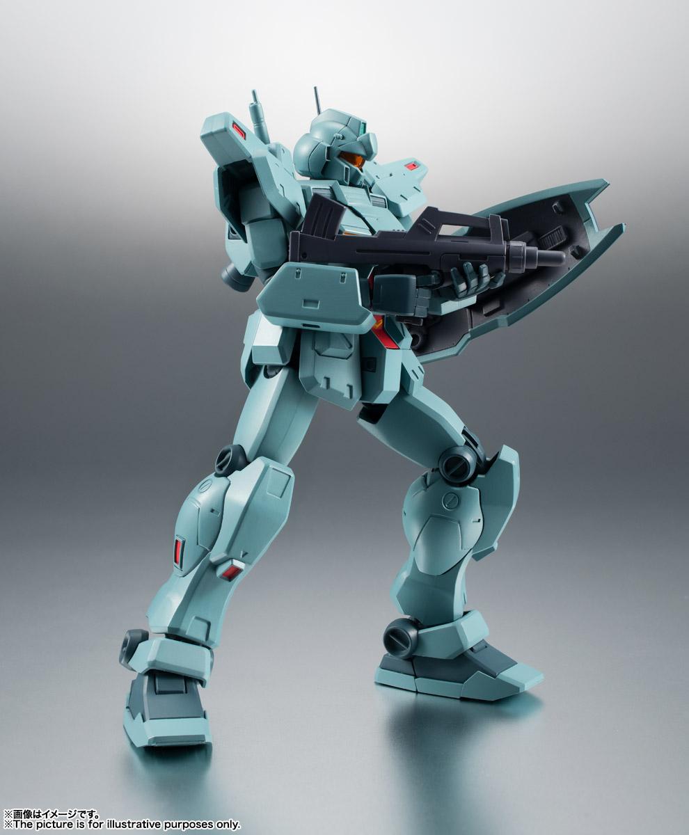 ROBOT魂〈SIDE MS〉『RGM-79N ジム・カスタム ver. A.N.I.M.E.』ガンダム0083 可動フィギュア-011