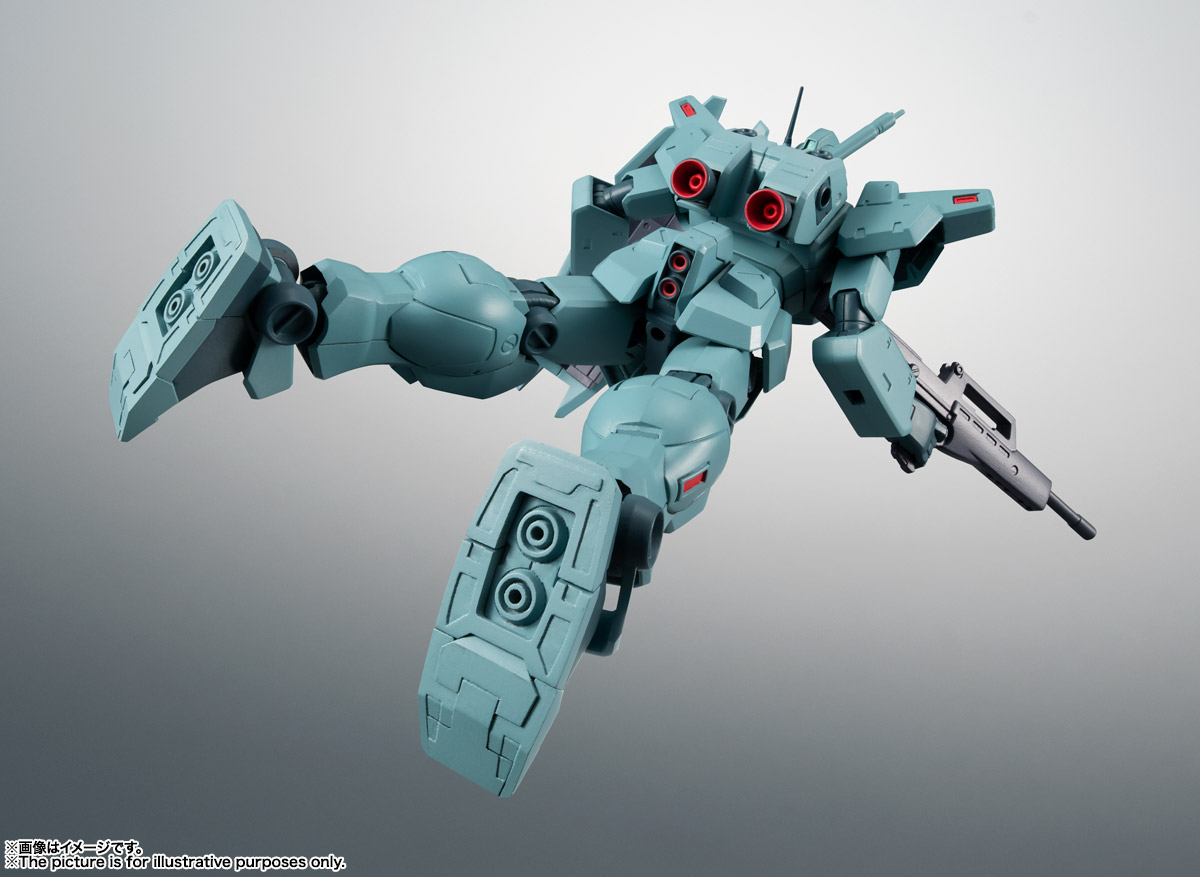 ROBOT魂〈SIDE MS〉『RGM-79N ジム・カスタム ver. A.N.I.M.E.』ガンダム0083 可動フィギュア-012