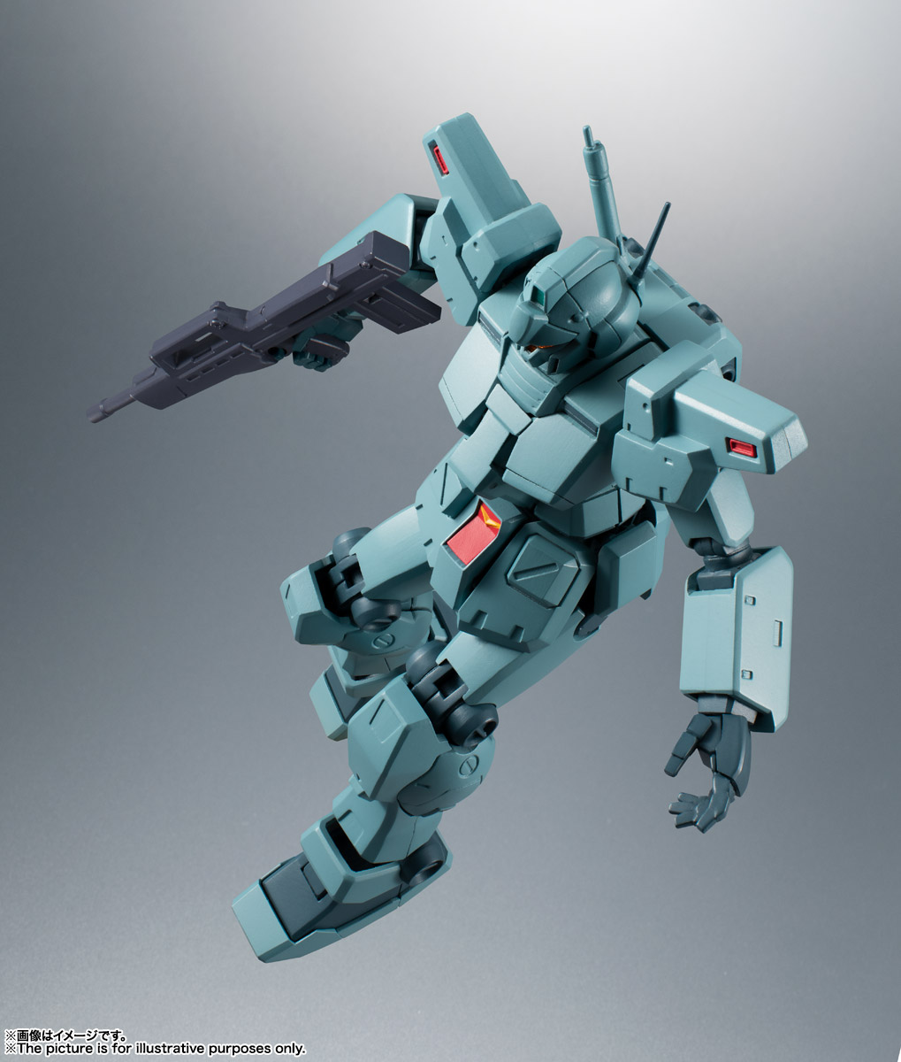 ROBOT魂〈SIDE MS〉『RGM-79N ジム・カスタム ver. A.N.I.M.E.』ガンダム0083 可動フィギュア-013