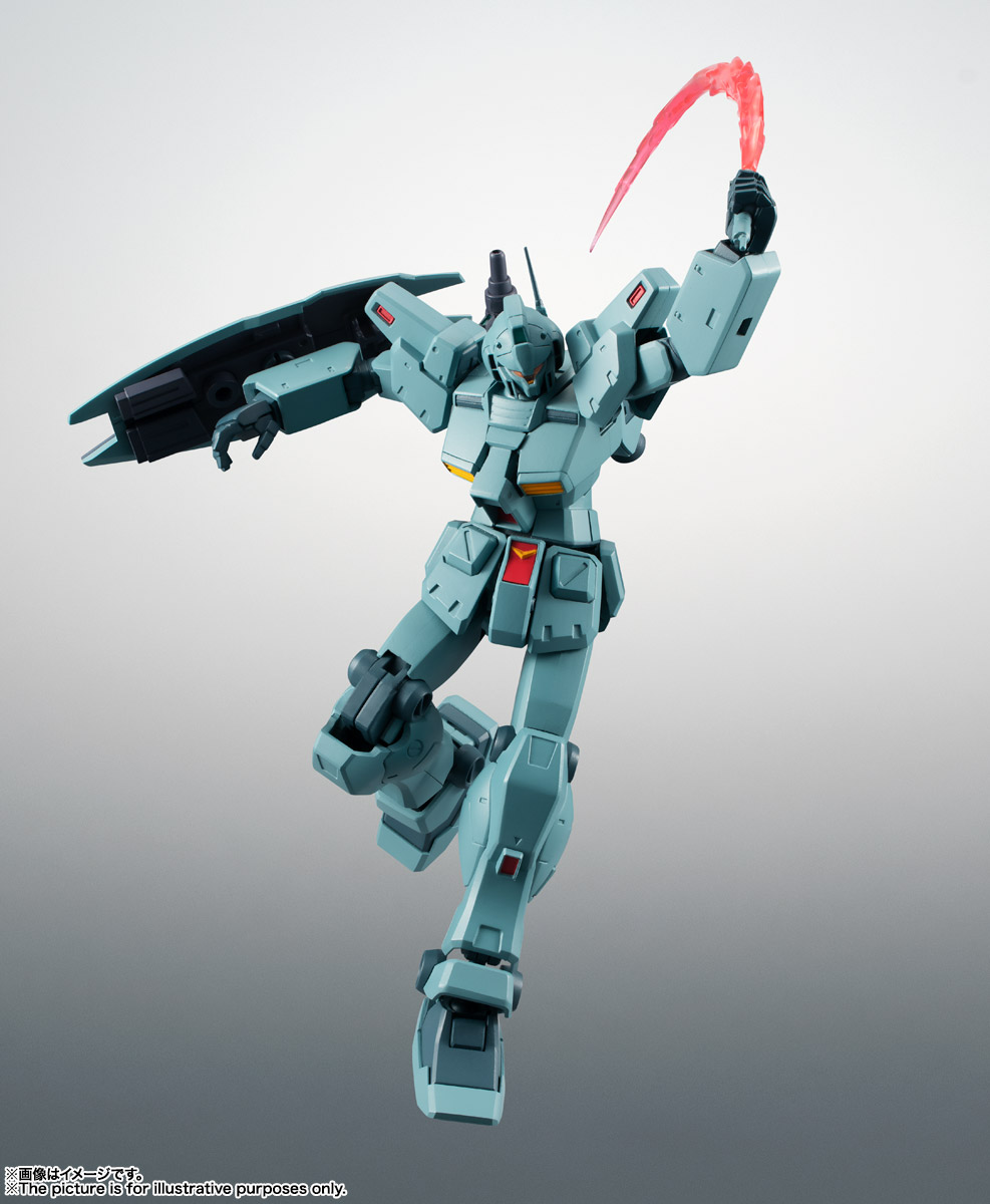 ROBOT魂〈SIDE MS〉『RGM-79N ジム・カスタム ver. A.N.I.M.E.』ガンダム0083 可動フィギュア-014