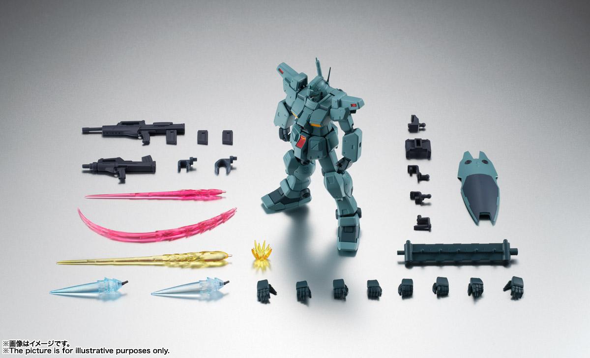 ROBOT魂〈SIDE MS〉『RGM-79N ジム・カスタム ver. A.N.I.M.E.』ガンダム0083 可動フィギュア-015