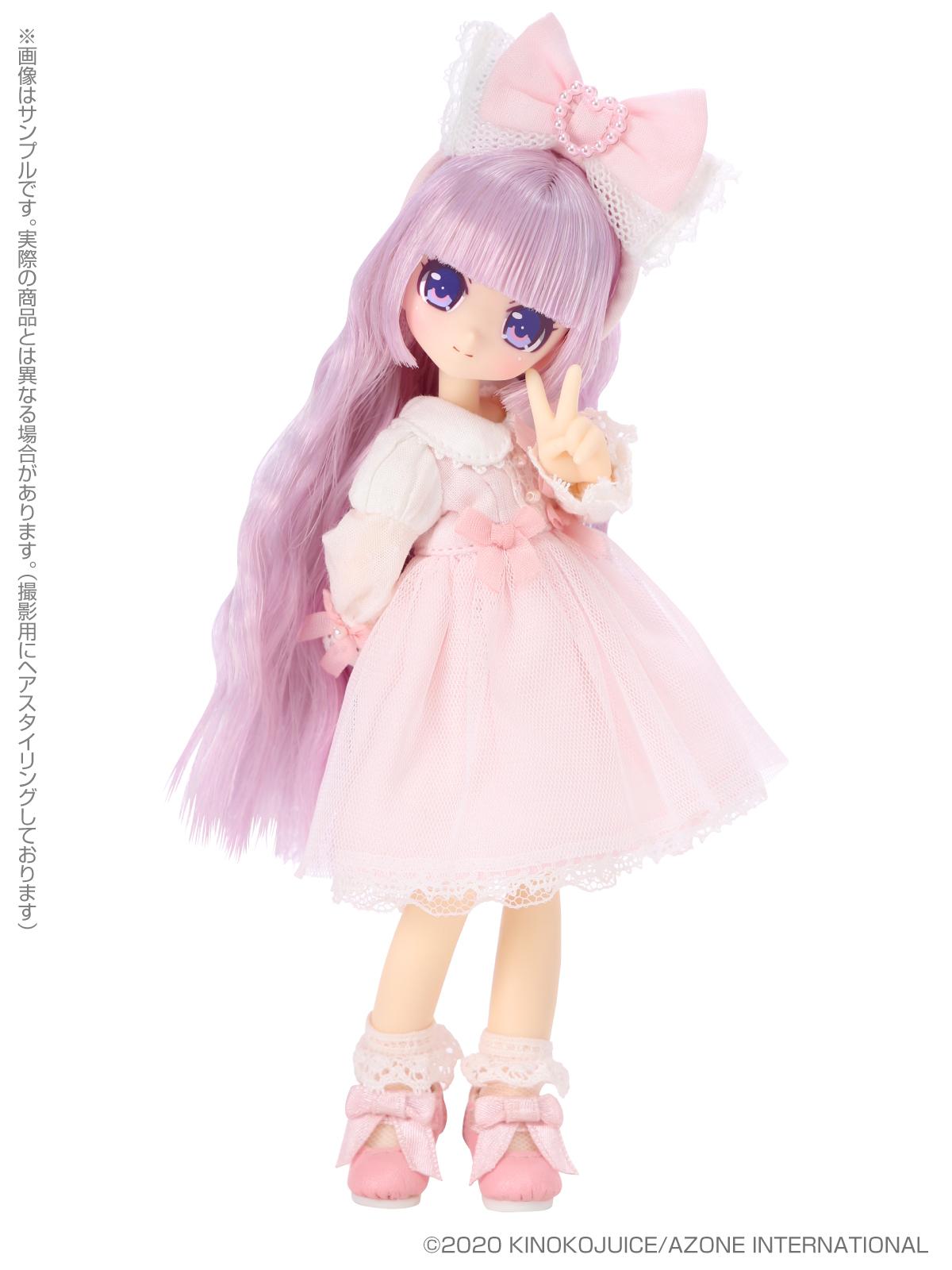 キノコジュース×Lil'Fairy『Twinkle☆Candy Girls/エルノ』1/12 完成品ドール-004