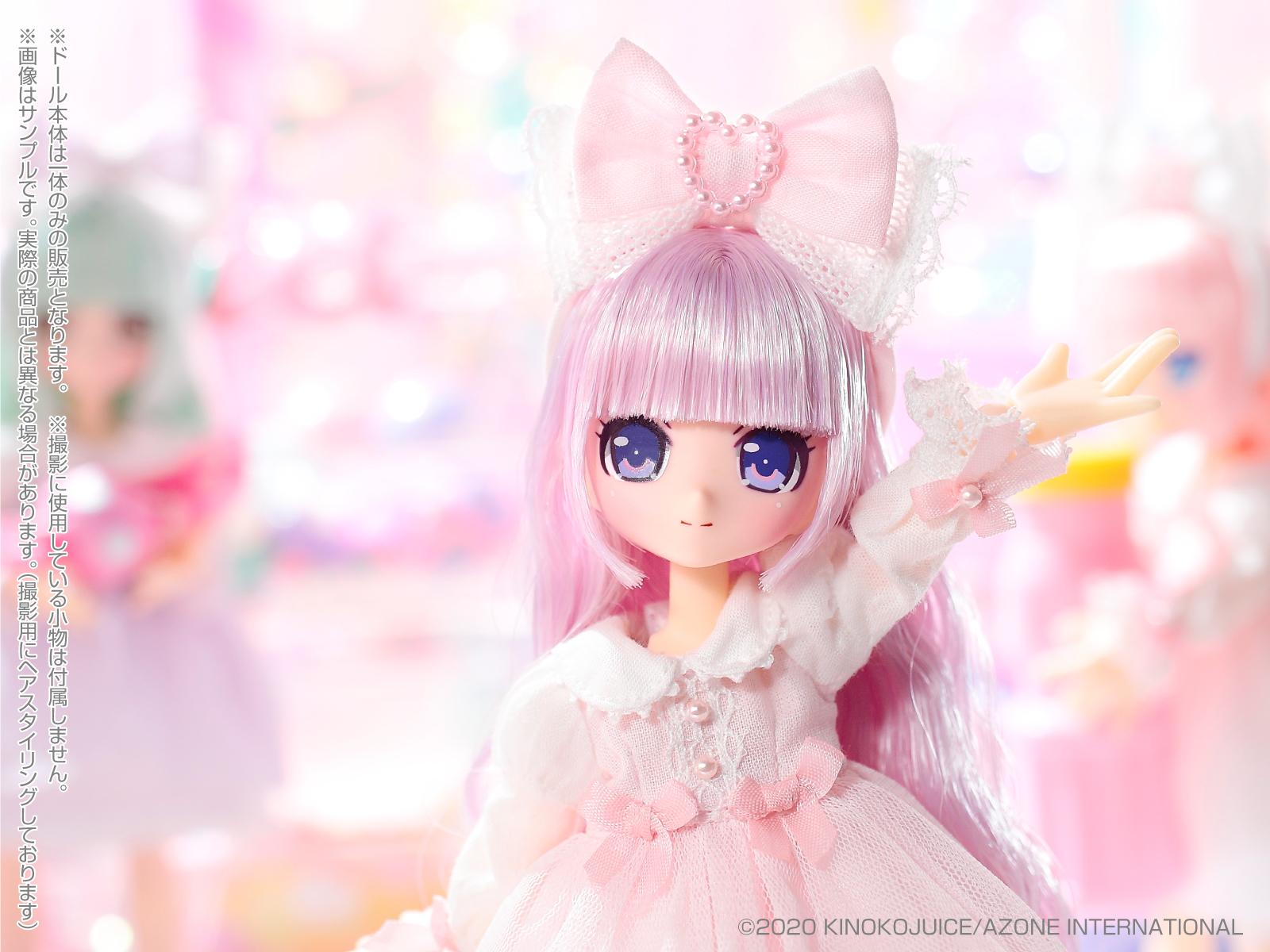 キノコジュース×Lil'Fairy『Twinkle☆Candy Girls/エルノ』1/12 完成品ドール-006
