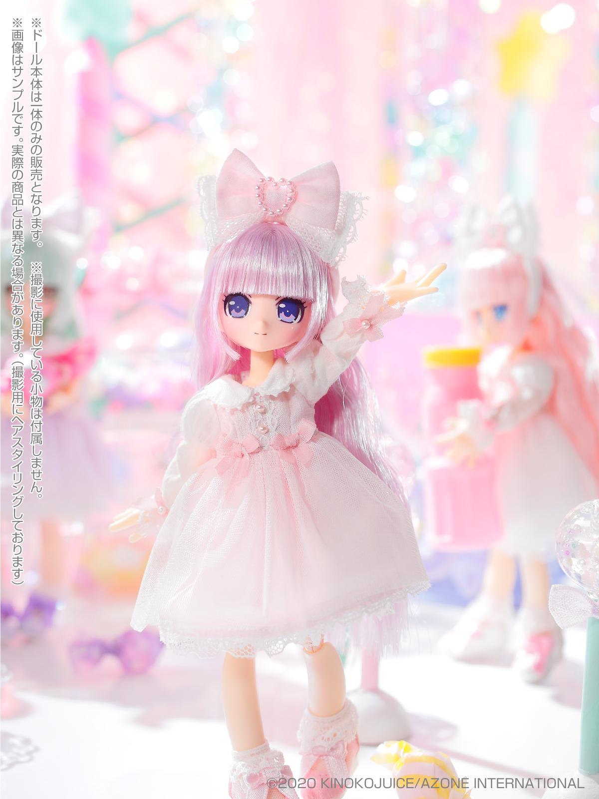 キノコジュース×Lil'Fairy『Twinkle☆Candy Girls/エルノ』1/12 完成品ドール-007