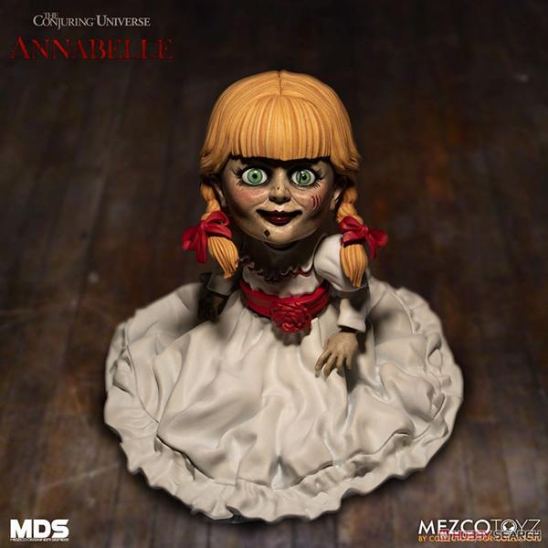 デザイナーシリーズ『アナベル 死霊館の人形:アナベル』6インチ 可動フィギュア