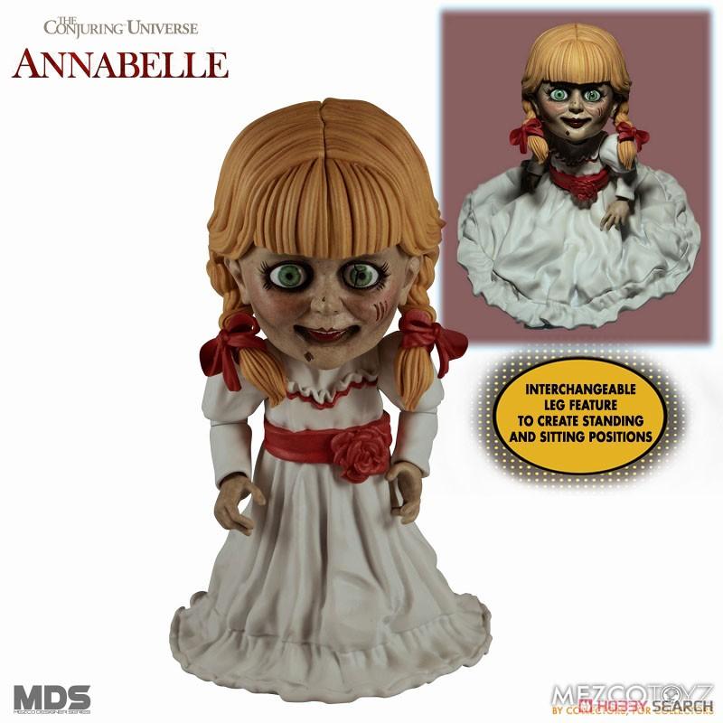 デザイナーシリーズ『アナベル 死霊館の人形:アナベル』6インチ 可動フィギュア-001