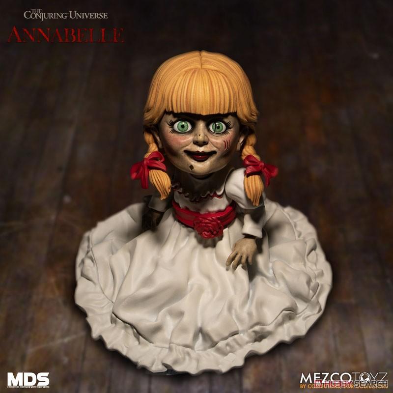 デザイナーシリーズ『アナベル 死霊館の人形:アナベル』6インチ 可動フィギュア-002