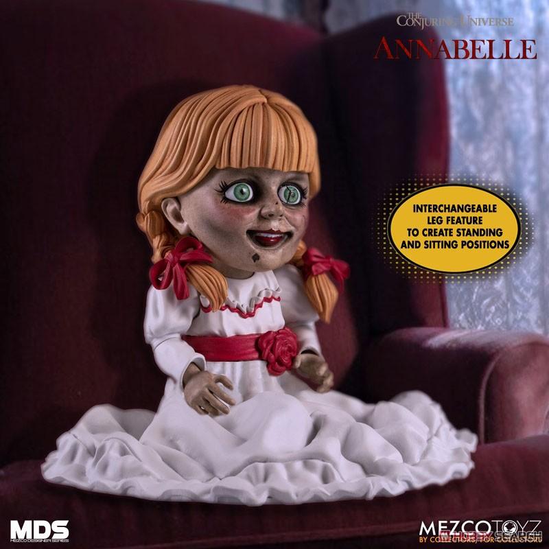 デザイナーシリーズ『アナベル 死霊館の人形:アナベル』6インチ 可動フィギュア-003