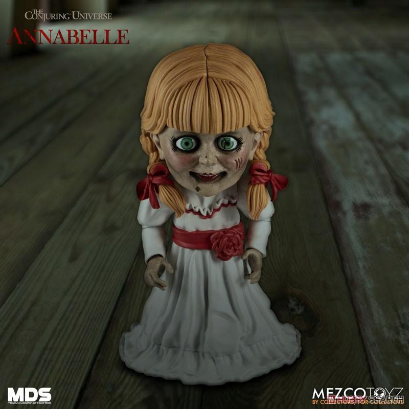 デザイナーシリーズ『アナベル 死霊館の人形:アナベル』6インチ 可動フィギュア-004