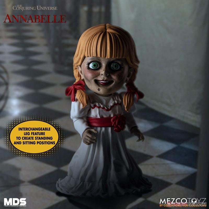 デザイナーシリーズ『アナベル 死霊館の人形:アナベル』6インチ 可動フィギュア-005