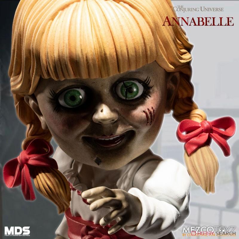 デザイナーシリーズ『アナベル 死霊館の人形:アナベル』6インチ 可動フィギュア-006
