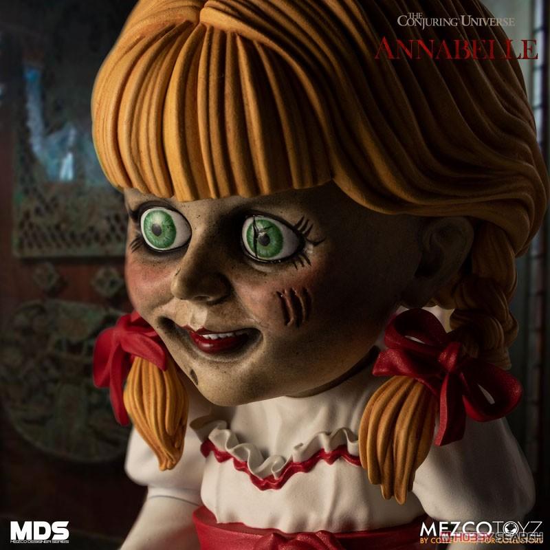 デザイナーシリーズ『アナベル 死霊館の人形:アナベル』6インチ 可動フィギュア-007