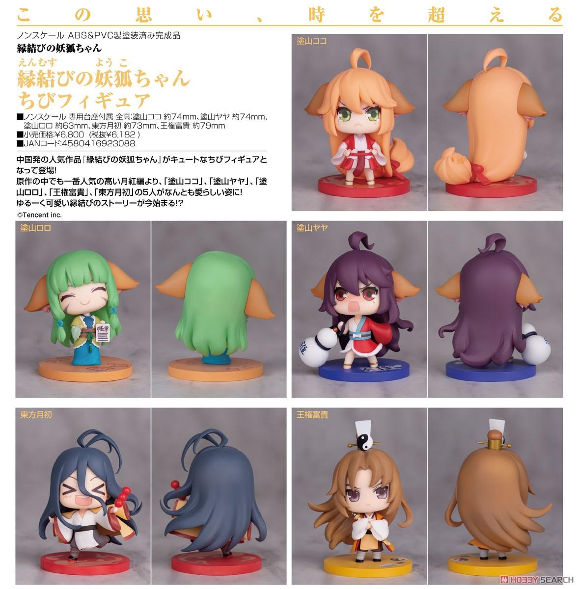 縁結びの妖狐ちゃん『ちびフィギュア』完成品フィギュア-006