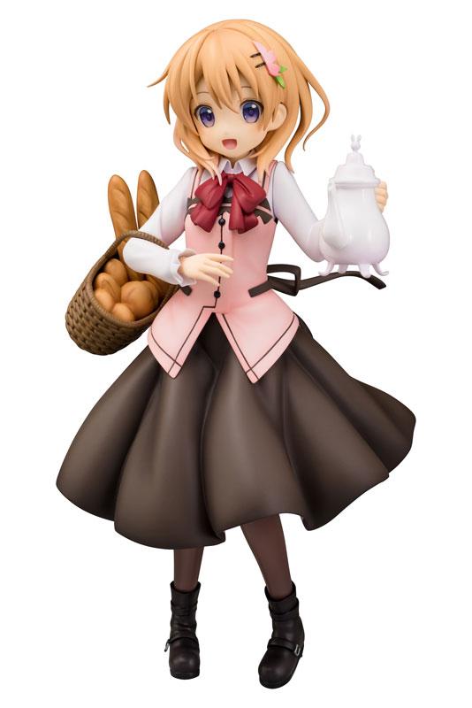 【再販】ご注文はうさぎですか??『ココア(Cafe Style)』1/7 完成品フィギュア-001