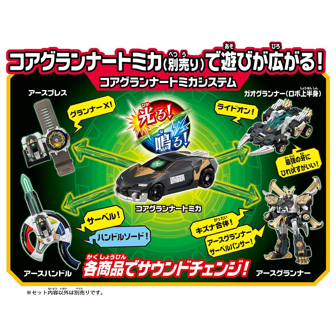 トミカ絆合体 アースグランナー『EG03 アースグランナーサーベルパンサー』可変合体フィギュア-005