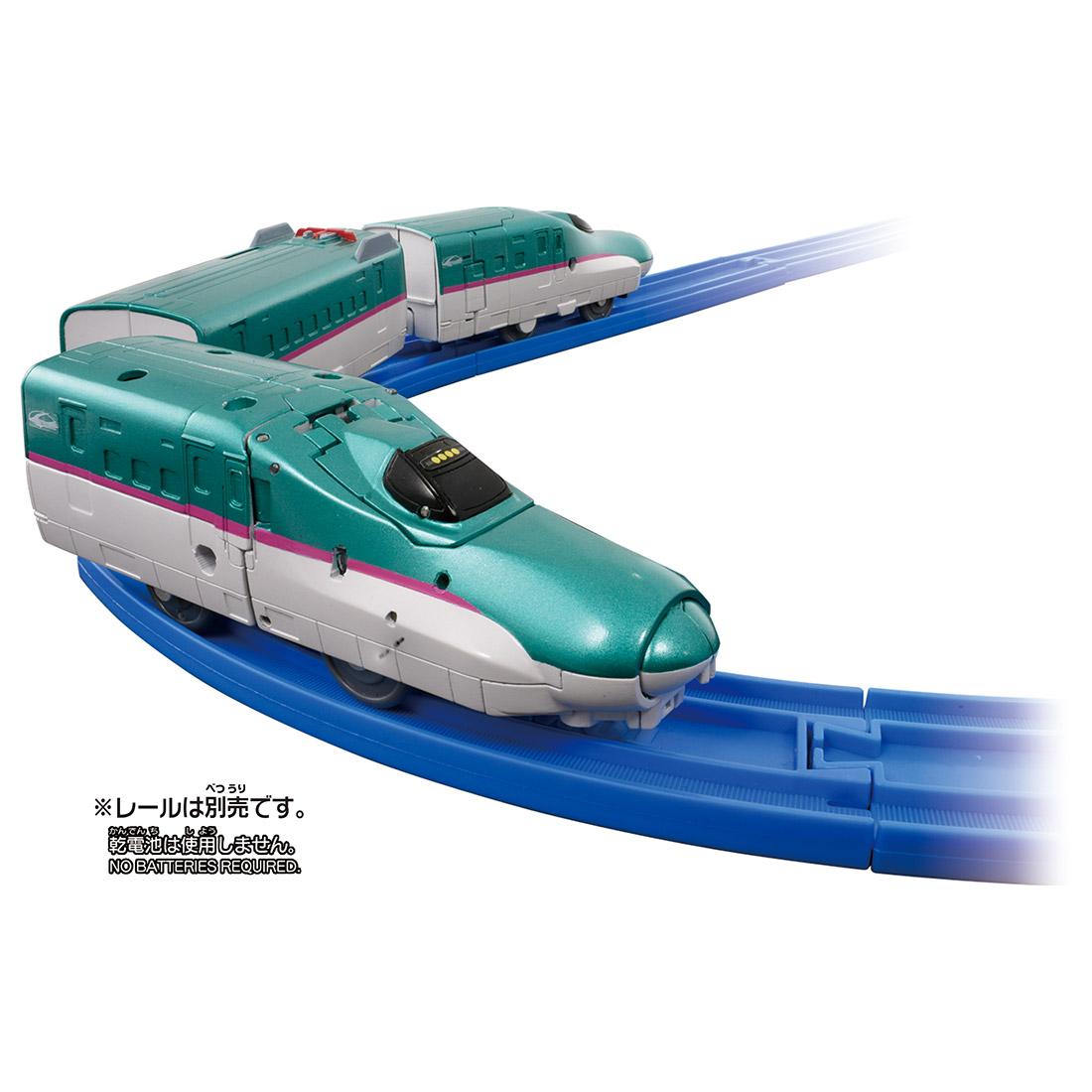 新幹線変形ロボ シンカリオン『DXS シンカリオン E5はやぶさ 可動プラス』可変プラレール-002