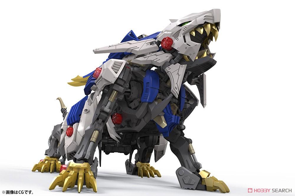 HMM『ワイルドライガー』ゾイドワイルド 1/35 プラモデル-005