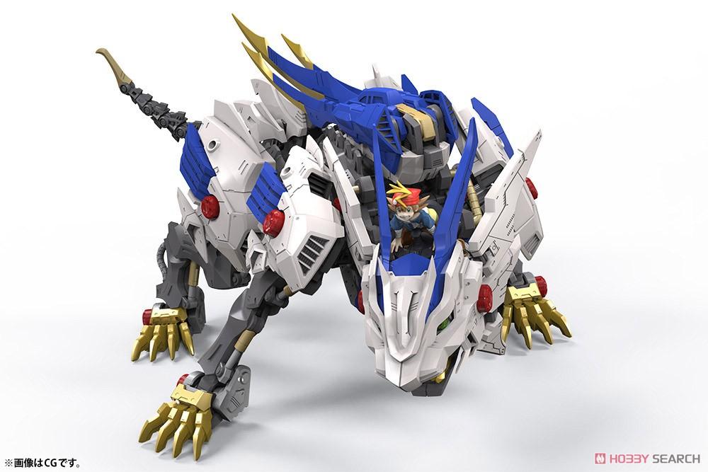 HMM『ワイルドライガー』ゾイドワイルド 1/35 プラモデル-006