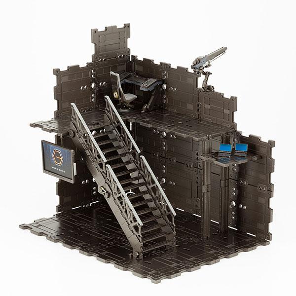 ヘキサギア『ブロックベース01 DXヘッドクォーター』1/24 キットブロック
