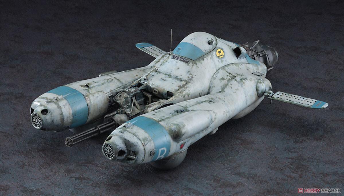 マシーネンクリーガー『反重力装甲戦闘機 Pkf.85 ファルケ `ボマーキャット`』1/20 プラモデル-001