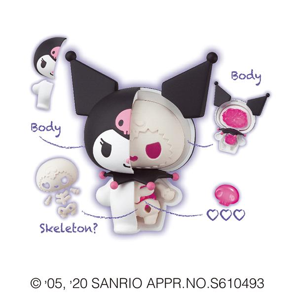 サンリオ『KAITAI FANTASY サンリオキャラクターズ』4個入りBOX-008