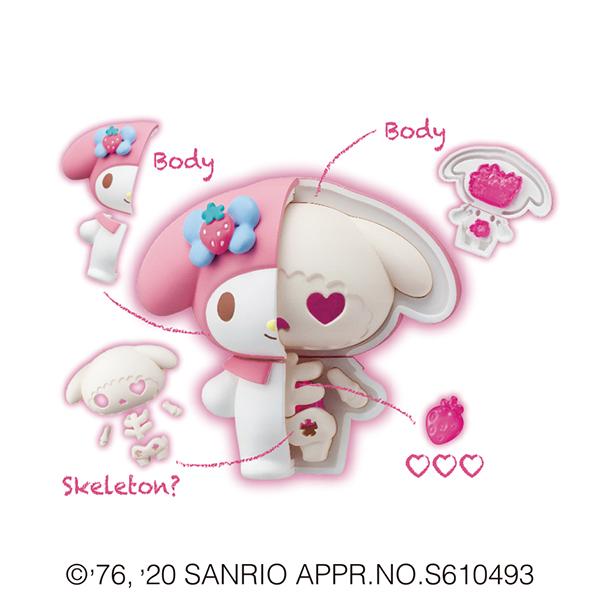 サンリオ『KAITAI FANTASY サンリオキャラクターズ』4個入りBOX-011