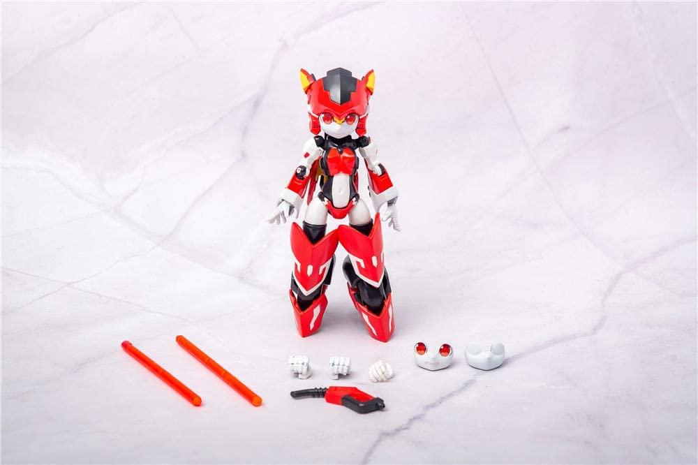 魔姫変形シリーズ『疾速紅音(スカーレットソニック)』可変可動フィギュア-004