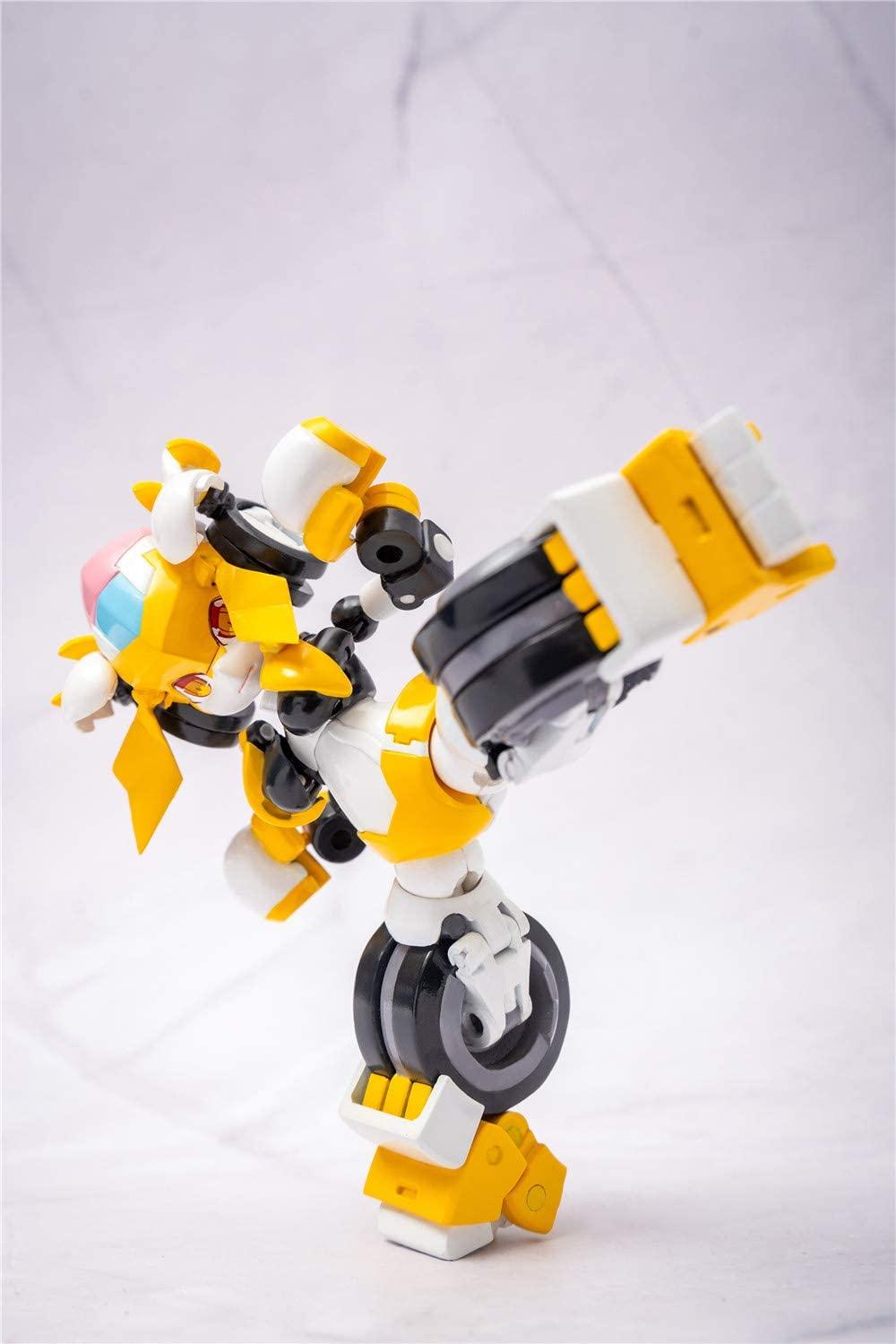 魔姫変形シリーズ『疾速紅音(スカーレットソニック)』可変可動フィギュア-008