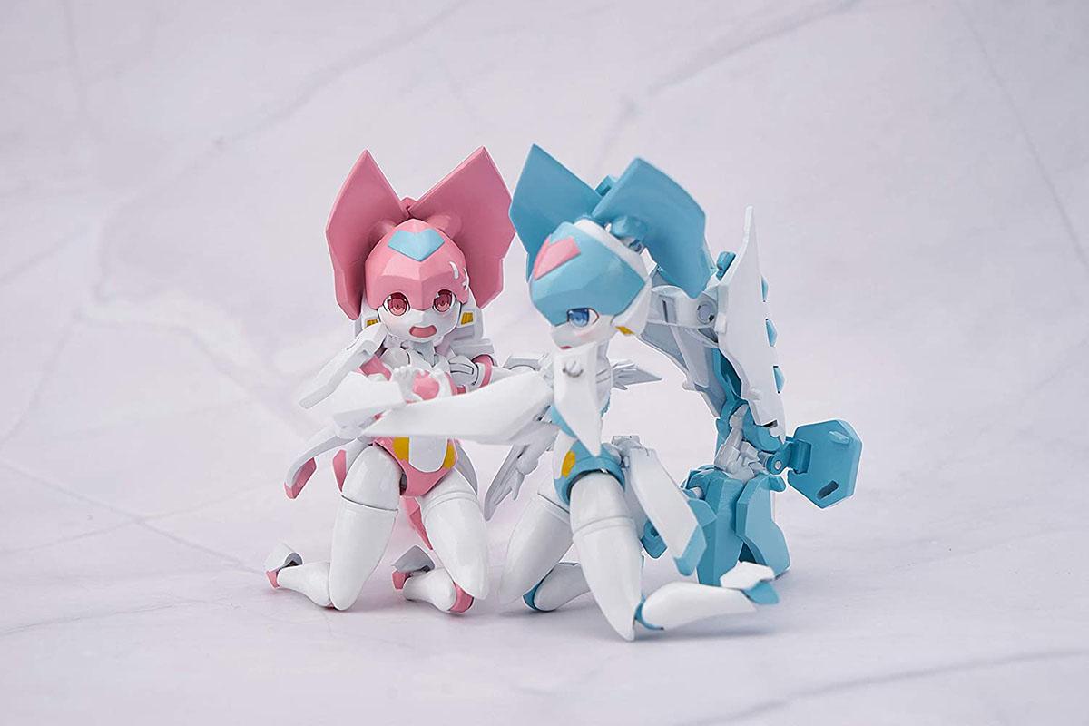 魔姫変形シリーズ『疾速紅音(スカーレットソニック)』可変可動フィギュア-012