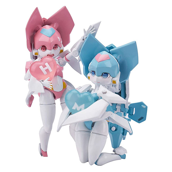魔姫変形シリーズ『比翼双子(ジェミニウィングス)』可変可動フィギュア