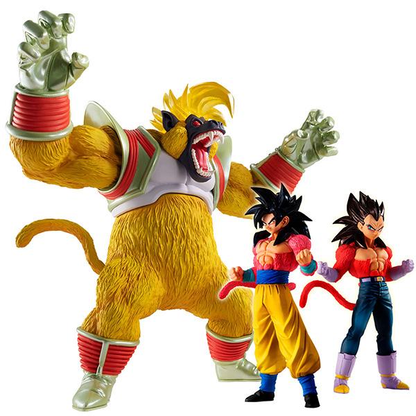 【限定販売】HGシリーズ『HGドラゴンボールGT 大猿覚醒編』全3種