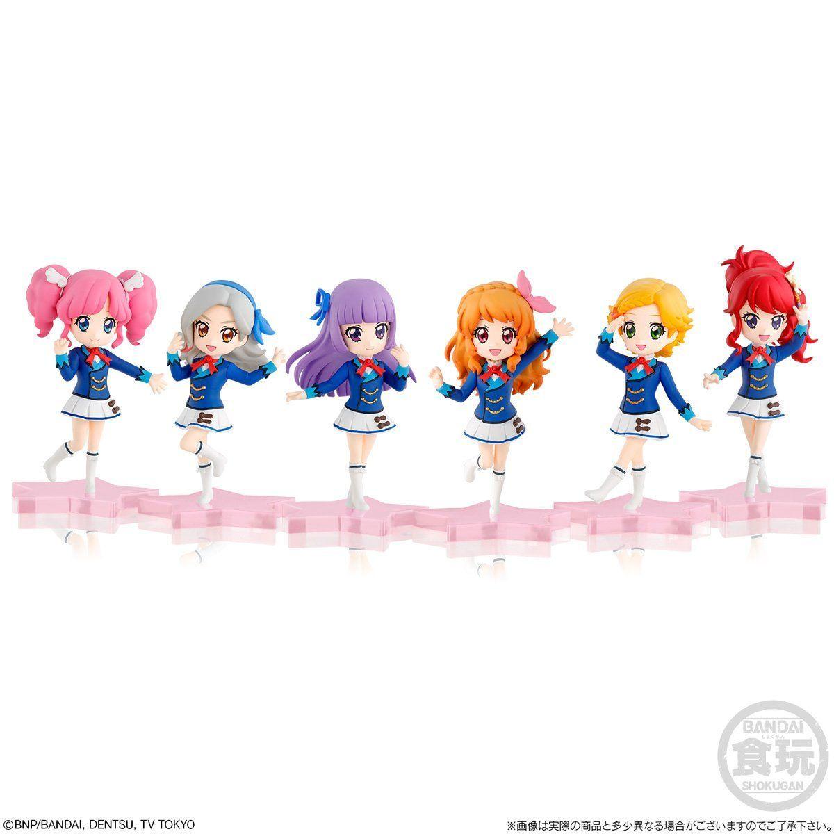【限定販売】【食玩】アイカツ!『MiMiCHeRi アイカツ!Lovely Party Collection セット』6体セット-001