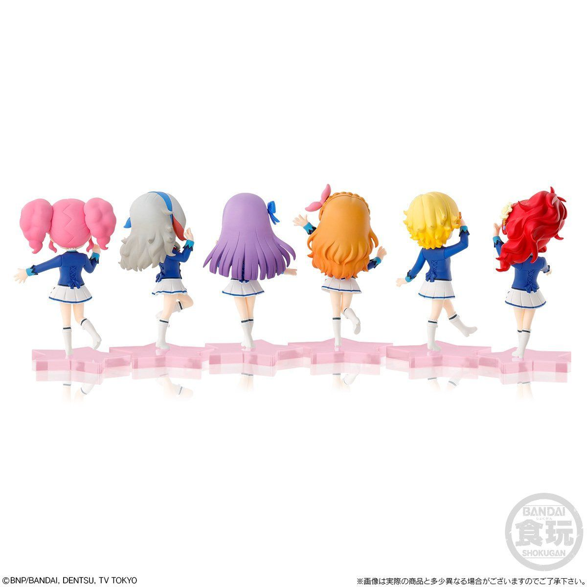 【限定販売】【食玩】アイカツ!『MiMiCHeRi アイカツ!Lovely Party Collection セット』6体セット-002